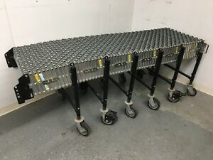 Best Flex Portable 8 To 24 Expandable Conveyor With Steel Skatewheels 2 Wide