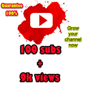 100 Subs For Your Youtube Channel 100 Real Human Youtube Watchers