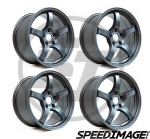 4x Gram Lights 57cr 18x10 5 22 5x114 3 Gun Blue 2 Set Of 4 Wheels Wheel