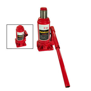 8 Ton Auto Car Under Bed Emergency Hydraulic Bottle Jack Lift Tool Portable