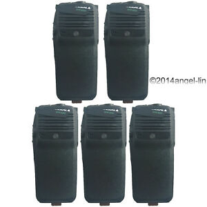 Lot 5 Black Housing Cover Case Kit For Motorola Mototrbo Xpr6350 Radio