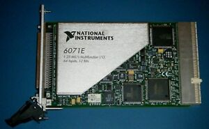 Ni Pxi 6071e 64 channel Multifunction Daq For Pxi National Instruments tested