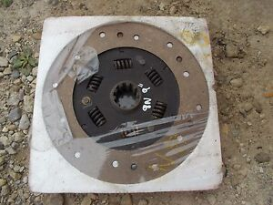 Ford 8n Tractor Engine Motor 9 Clutch Pressure Plate Dsc Disk Nos Nw Old Stock