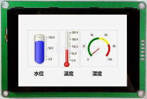 New 3 5 Inch Hmi Uart Tft Lcd Display Module 480x320 Capacitive Touch Screen