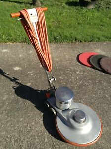 Working 20 Uhs 20 Walk Behind Commercial Floor Buffer Burnisher 1500rpm