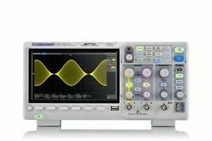 Siglent Technologies Sds1202x e 200 Mhz Digital Oscilloscope 2 Channels Grey