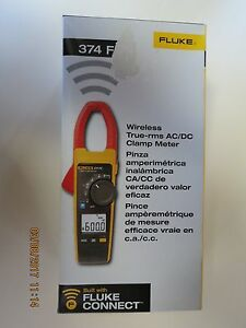 Fluke 374 Fc Wireless True rms Ac dc Clamp Meter New