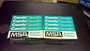 Msa Comfoclassic 808071 Respirator Facepieces lot Of 2 Free Shipping New