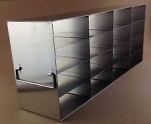 Rack For Ultra Low Temperature Freezer Stainless Steel Upright Crystal Uf 442