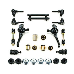 1962 1969 Plymouth Duster Valiant Black Poly Front Suspension Rebuild Kit Disc