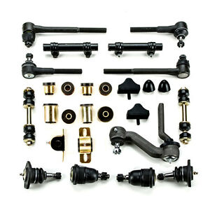 Black Poly Front Suspension Master Kit Fits 1968 1969 Chevrolet Chevy Ii Nova
