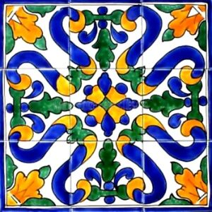Decorative Ceramic Tiles Mosaic Panel Hand Painted Kitchen Back Splash Patio Art
