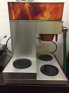 Newco Automatic Coffee Brewer W 3 Warmers 120v Commercial Maker