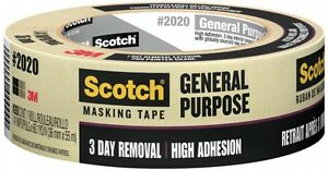 Painting Production Masking Tape Sunlight And Uv Resistant case Of 24