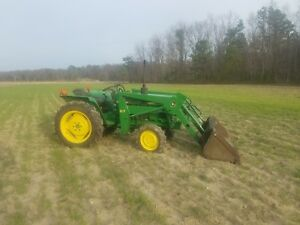 John Deere 750 Compact 4x4 Tractor W Quick Attach Bucket Loader 4wd