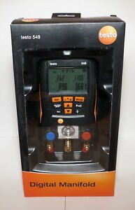 Testo 549 Refrigeration Digital Manifold 0560 0550 14 7 To 870 Psi Hvac New
