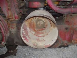 Farmall 560 460 Tractor Original Steel Flat Belt Pulley Nice Rare Hard To Find
