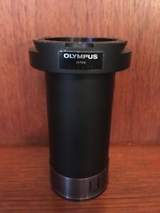 Olympus Im Microscope Lwd Condenser Lens 53mm Dovetail Connector Nice