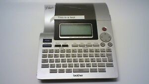 Brother P touch Label Maker Machine Pt 2700 Missing Adapter Battery Door