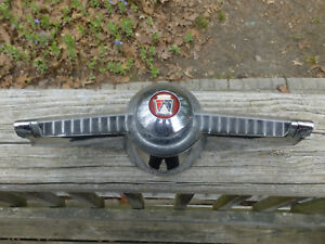 1955 Ford Steering Wheel Horn Button Horn Ring Fdh 3624c