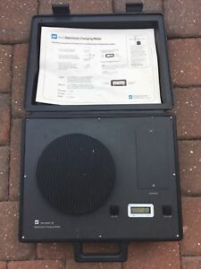 Tif 9000 Refrigerant Electric Charging Meter Scale In Molded Case