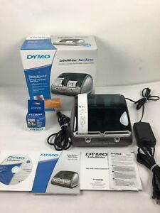 Dymo Twin Turbo Labelwriter Like New Pc Mac Thermal Label Printer With Labels