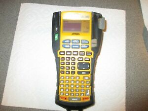 Pre owned 3m Pl200 Dymo Industrial Label Maker