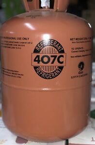1 Pallet Of 40 X R407c refrigerant 25 Lb Cylinder s Factory Sealed Local Pickup