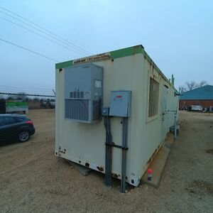 40 Mobile Mini Office Container With Oiltanks And Glycol Tank