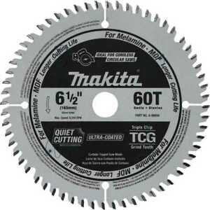 Makita A 99998 6 1 2 60t tcg Carbide tipped Plunge Cut Track Saw Blade New