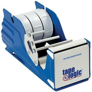 Aviditi Sl7336 Steel Multi Roll Table Top Tape Dispenser 3 Tape Diameter Blu