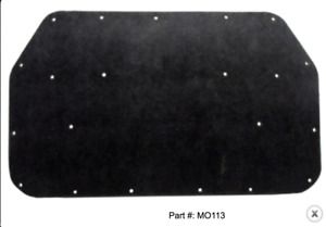1970 Dodge Plymouth Hood Insulation Kit Includes Clips