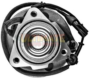 Front Wheel Bearing Hub 4x4 For 02 05 Ford Explorer 4 Door Suv