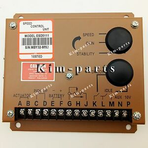 New Gac Governor Speed Controller Esd5111 For Cummins Engine