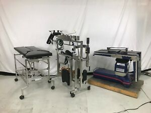 Maquet Alphastar General Surgical Table With Complete Orthopedic Fracture Kit