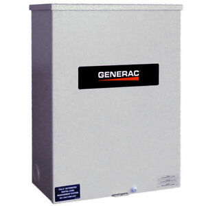 Generac Rxsc200a3 120 240 volt 200 amp Single phase Automatic Transfer Switch