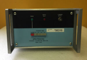 Spectracom 8140 0 1 To 10 Mhz 50 Ohms Bnc f Frequency Distribution Amplifier