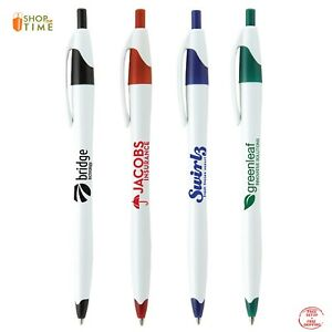 Promotional Pens Printed With Your Company Name Logo Text In 1 Color 250 Qty