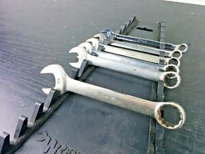 Snap On Tools 6pcs Short Sae Combination Wrench Set