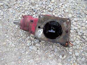 Farmall C Sc B A Tractor Ih Ihc Belt Pulley Drive Assembly w Drive Gear Bolt
