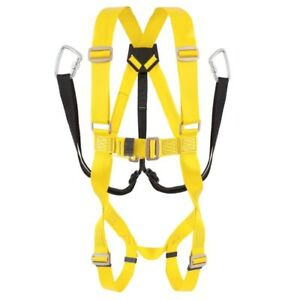 Bellstone Full Body Double Rope Belt With Double Hook Safety Belt