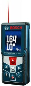 New Bosch Laser Measure Distance 165 Ft Full color Display Meter Range Finder