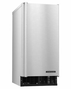 Hoshizaki Am 50baj ad Ice Maker Air cooled Self Contained Built In Storage
