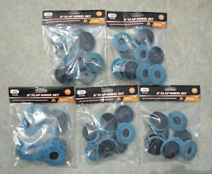 50 Pc Iit Brand Assorted Grit 2 Flap Wheels