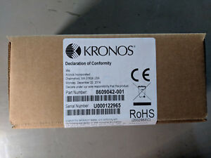 Kronos Touch Id Plus H3 Biometric Reader 8609042 001 For Intouch 9000 New