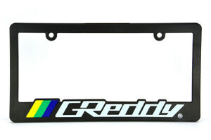 X1 Jdm Greddy Racing License Plate Frame For Honda Acura