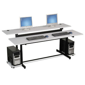 Split level Computer Training Table Top 72 X 36 box One