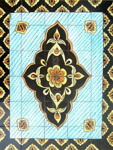 Decorative Ceramic Tiles Mosaic Panel Kitchen Bath Swimming Pool Patio Wall Art