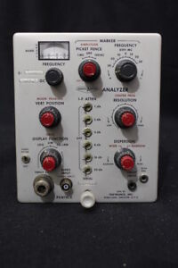 Vintage Pentrix Spectr Pulse Analyzer Mfg By Textronix Plug in L 30 1 10 4 G