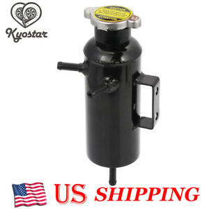 New Universal Radiator Coolant Aluminum Catch Tank Bottle Overflow Reservoir Can